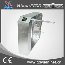 stainless steel Gate Design tripod turnstile gate With Token Machine