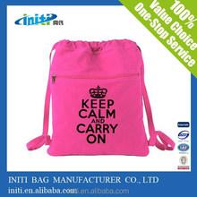 2015 Alibaba China Promotional waterproof drawstring bags shopping