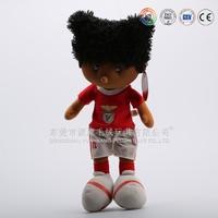 Dongguan plush factory custom made children cloths finger dolls