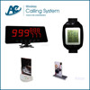 restaurant waiter call vibrator,electronic table buzzer system wrist watch pager