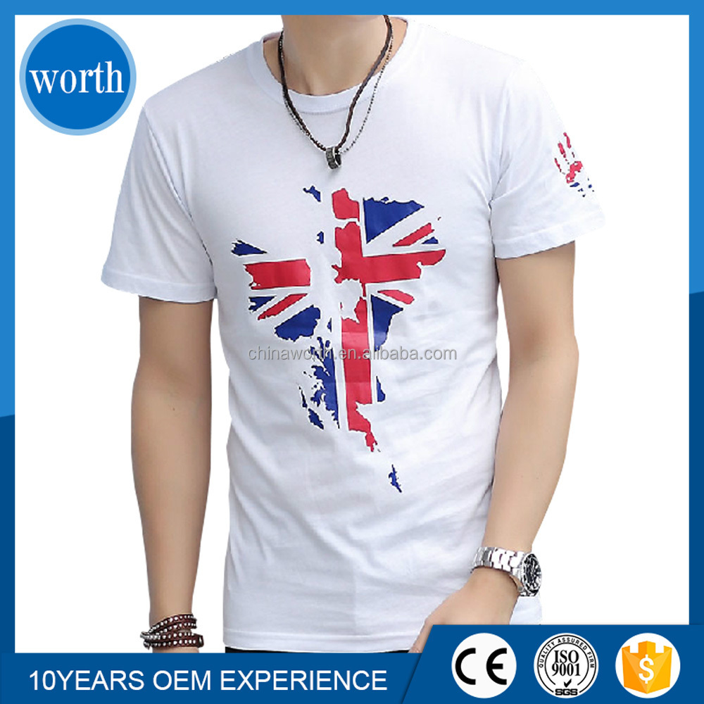 Custom design t shirt print t shirt printing t shirt from T shirt printing china