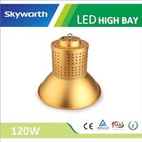 Innovative whole body SMD 3030 120w Ra 80 3~5 years warranty aluminum alloy stadium & factory lighting LED high bay light