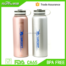 800ml stainless steel insulated thermos drinking sports bottle for tea