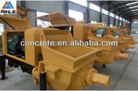 2013 hot concrete trailer pumping machine electric motor 90kw model