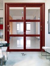 Traditional Classic Aluminum Frosted Kitchen Cabinet Glass Door