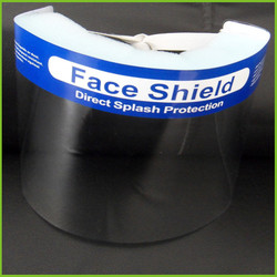 Eco-friendly Disposable face mask with splash shield