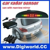 LED Car Radar System car parking sensor system