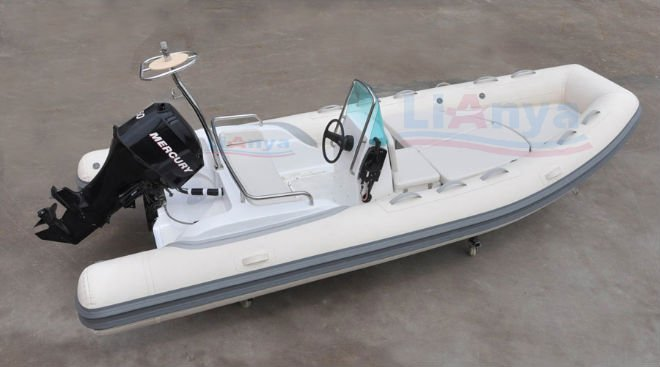 Liya 17ft motor rubber boat fiberglass pontoon boats for for Pontoon boat without motor for sale