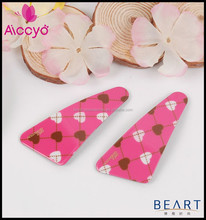 Wholesale Fashion French Hair Barrettes accessory kids Wave Point hair clip