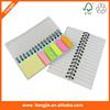 Stationery set memo pad with arrow sticky note and sticky notepad