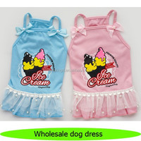 2015 new pet dog wholesale name brand clothing