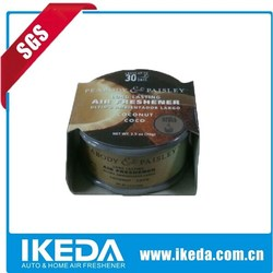 Aroma gel freshener/gel air freshener/car freshener gel
