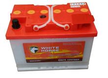 High quality 12V Dry charged starting car battery DIN75 12V 75AH