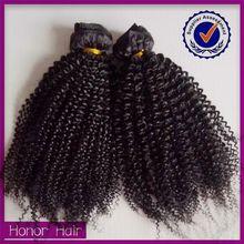 Homeage top sale 100 human hair afro kinky curly mink virgin brazilian and peruvian hair