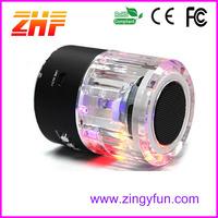 flashing lights portable color speaker disco light speaker