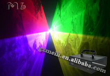 lower power RGB animation scanner laser light