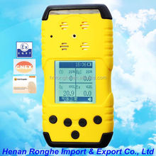 Manufactory direct sale movable gas detector for fruit storage RH1200