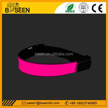 hot selling business gift LED safety waist belt for sports