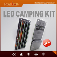 PanaTorch private design car charged with cigarette plug 4 Bar Led light kit widely used for night camping/fishing/hunting