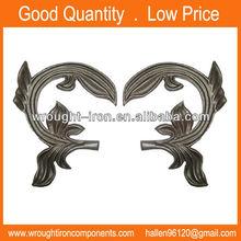 decorativos de hierro forjado hojas