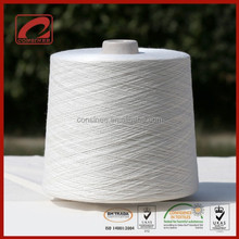 Wool silk hemp blended yarn containing 20 percent raw hemp fiber