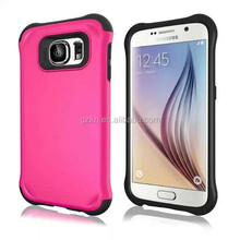 Super cool sublimation rubber case for Samsung Galaxy S6
