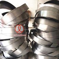 65Mn steel strip wooden cutting bandsaw blades, customized teeth type