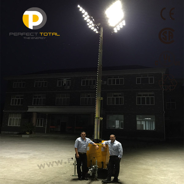 Light Tower Specifications: Yanmar Portable Led Light Tower
