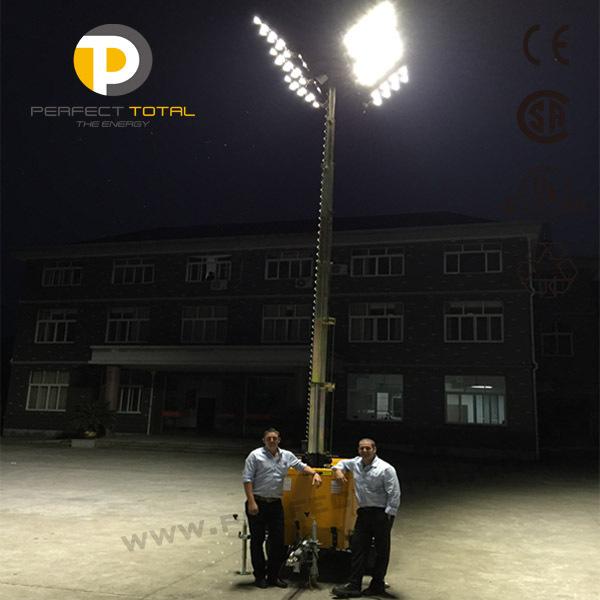 Yanmar Portable Led Light Tower