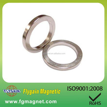 permanent axially magnetized ring magnet