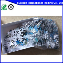 sublimation blank jigsaw puzzle puzzle game cmyk print toy