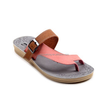 2016 New arrival hollow out sandals fashion shoes stylish flat sandals for women