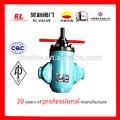 yacimiento de mano hidráulico de la válvula de control de agua para el sistema de inyección