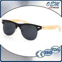 2015 Latest CE Polarized uv400 Bamboo Wood Sunglasses