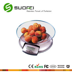 popular electronic plastic round platform kitchen scale online shopping