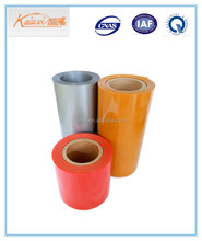 super clear hard pvc/pvdc film for pharmaceutical packing