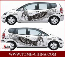 matte car wrap vinyl decal for printing material