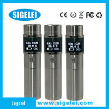 The most amazing invention e cig Sigelei vapor Legend freely set smoking time new products looking for distributor