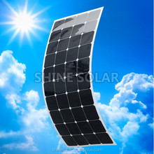 flexible solar panel could design with small size