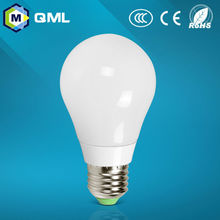 CE ROSH light full 360 beam angle 3w 5w 7w glass led bulb of anti explosion glue