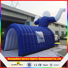New finished Custom made inflatable mascot tunnels with lower factory price