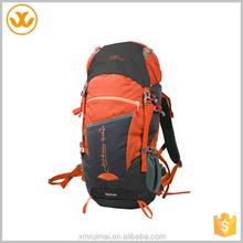 Unisex oxford camping hiking backpack custom sports bag