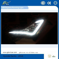 Top Quantity LED Lamp led Source lighting/DRL with Fog lamp for Hyundai Elantra Auto LED Daytime Running Light Fog lamp(2014)