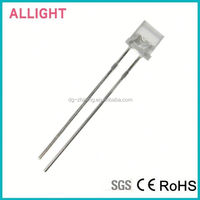 Hot sale ultra bright red led 5mm flat top