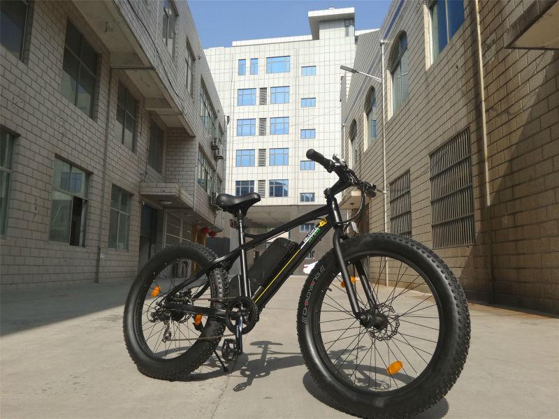 Fat bike 48v 500w fat tyre cruiser