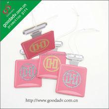 Guangzhou Most fashion promotion gift hanging paper freshener