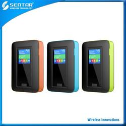 Travel and outdoor essential 4G modem lte router wifi with sim card slot with RJ45 port