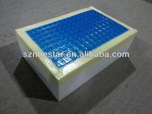 Tricoté tissu lavable matelas gel de silicone
