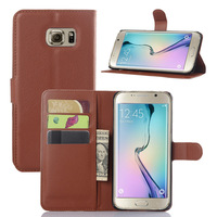 For Samsung Galaxy S6 edge+ Leather Case With Cards Slots