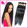 fashion hair brazilian straight hair natural color soft and silky feeling